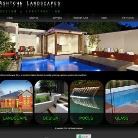 Ashtown Landscapes - Web Initiatives web design Melbourne