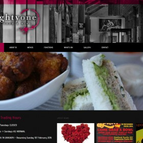 Eighty One Berwick, Restaurant, WordPress, web design Berwick