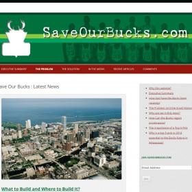 Save Our Bucks - Web Initiatives web design Melbourne